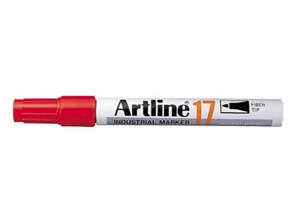 Filzstift Artline Industial Marker 17 rot
