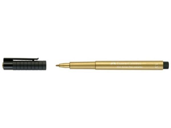 Filzstift Faber-Castell Pitt Artist Pen 1,5mm gold metallic 250