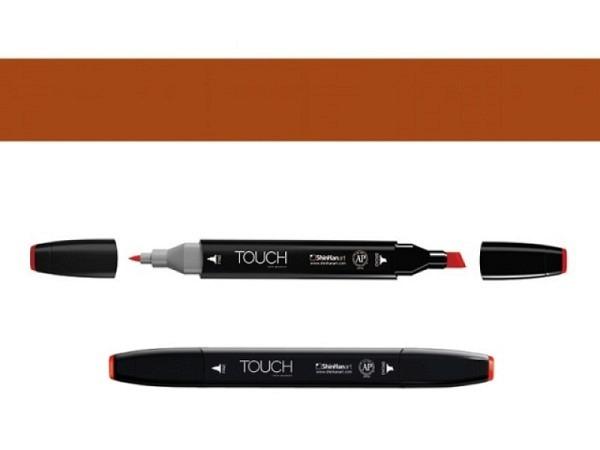 Filzstift Touch 102 Doppelspitz Raw Umber 1,5-6mm/1mm