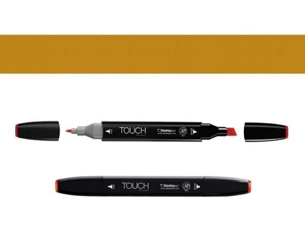 Filzstift Touch 100 Doppelspitz Walnut, 1,5-6mm/1mm