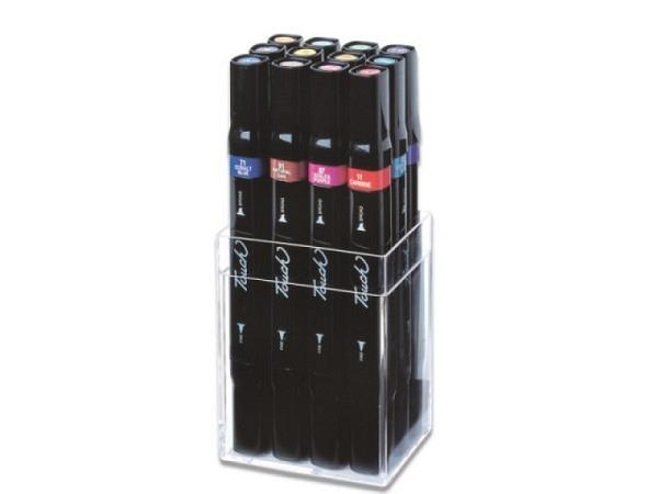 Filzstift Touch Doppelspitz Set 12er Main 1,5-6mm/1