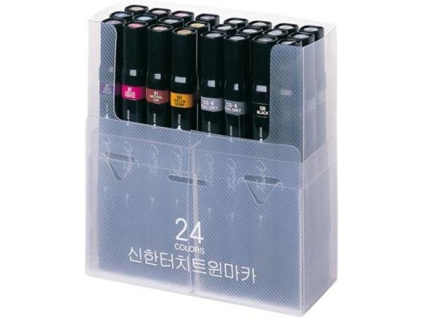 Filzstift Touch Doppelspitz Set 24er 1,5-6mm/1mm