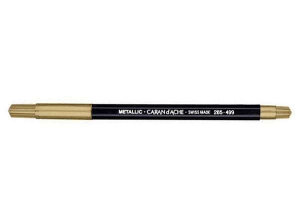 Filzstift Caran d'Ache Fancolor metallic gold
