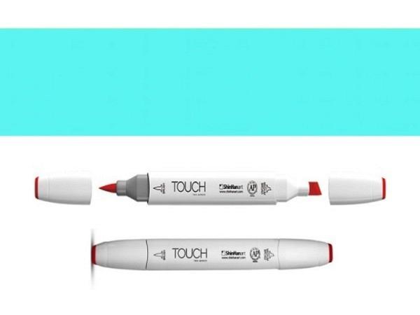 Pinselstift Touch 63 Doppelspitz cerulean blue