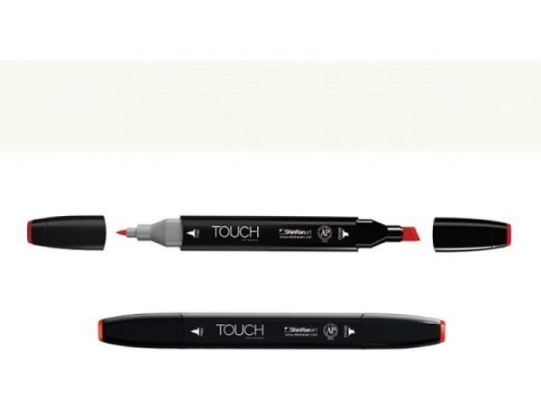 Filzstift Touch 109 Doppelspitz Pearl White 1,5-6mm/1mm