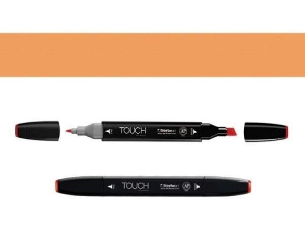 Filzstift Touch 107 Doppelspitz Sand 1,5-6mm/1mm