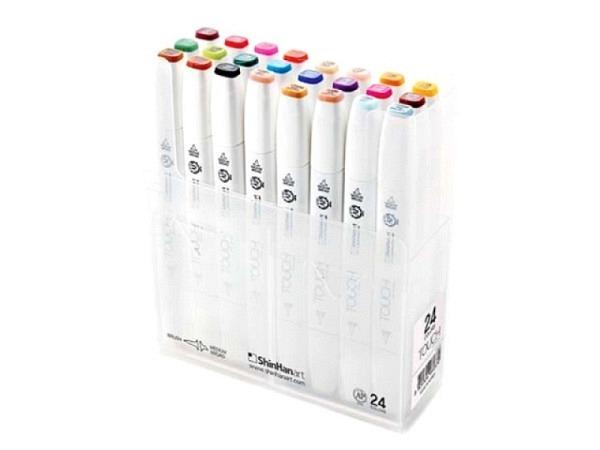 Pinselstift Touch Doppelspitz Set 24er