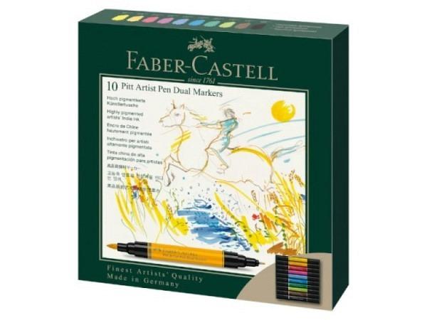 Pinselstift Faber-Castell Pitt Artist Pen Soft Brush 8er Set