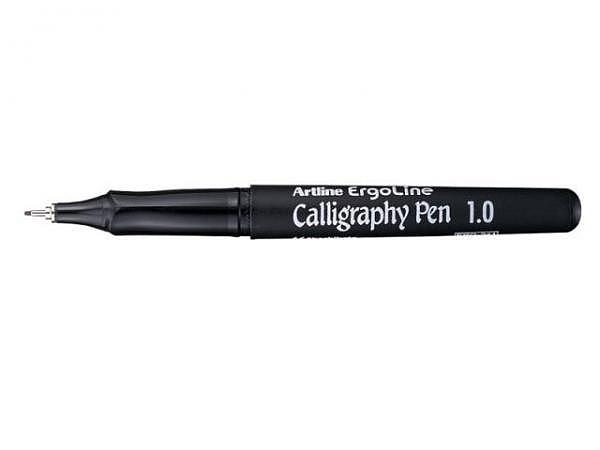 Filzstift Artline Calligraphy blau 3mm m.Clip