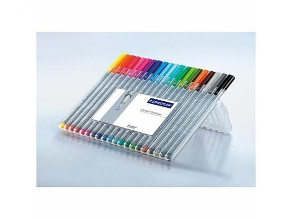 Filzstift Staedtler Triplus Fineliner 20er Set 0,3mm