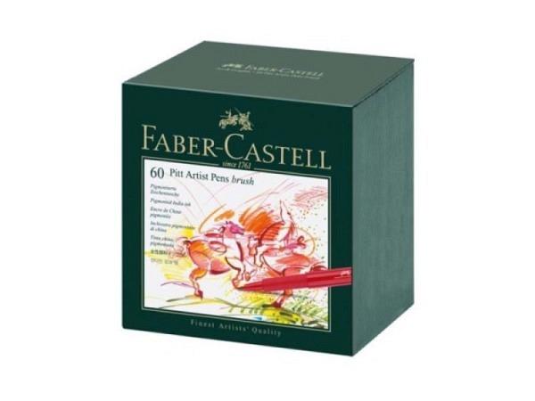 Pinselstift Faber-Castell Pitt Artist Pen B 60er Atelierbox