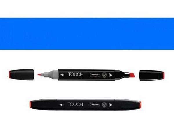 Filzstift Touch 251 Doppelspitz verona blue 1,5-6mm/1mm