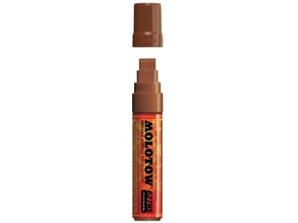 Filzstift Molotow One4all 627HS 15mm 092 hazelnutbrown
