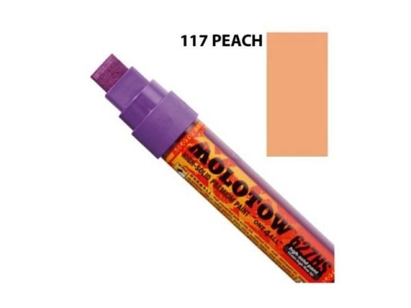 Filzstift Molotow One4all 627HS 15mm 117 peach pastel