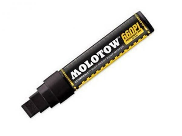 Filzstift Molotow CoversAll Signal Black 15mm Broad-Spitze