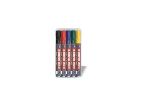 Filzstift Edding 250 für Whiteboard rund 3mm 5er Set