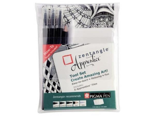 Filzstift Sakura Zentangle Fineliner Pigma Tool Set 5er