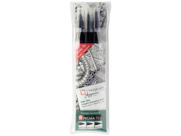 Filzstift Sakura Zentangle Fineliner Pigma Pen Set 3er