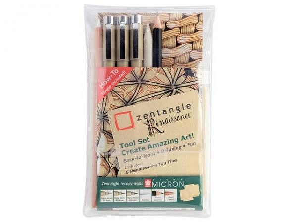Filzstift Sakura Zentangle Fineliner Pigma Micron Renaissance Tool 9er Set