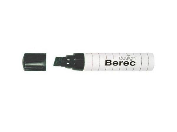 Filzstift Berec 954 schwarz, für Whiteboard und Flipchart geeignet, ..