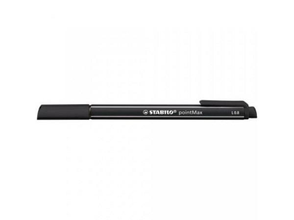 Filzstift Stabilo 488 PointMax schwarz 46, 0,8mm