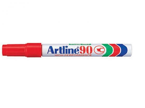 Filzstift Artline 90 Permanent Marker rot