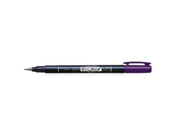 Pinselstift Tombow Fudenosuke Brush Pen Hard lila