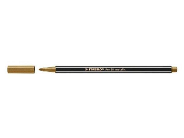 Filzstift Stabilo Pen 68 Metallic gold