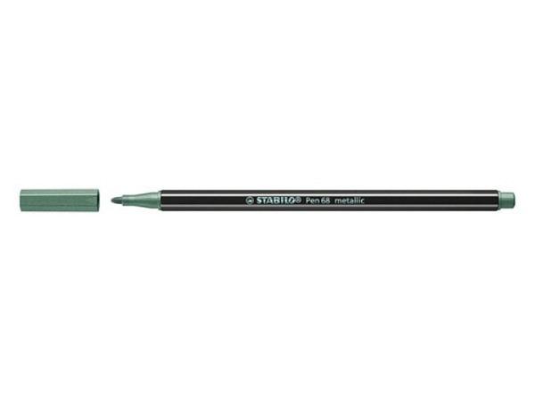 Filzstift Stabilo Pen 68 Metallic grün
