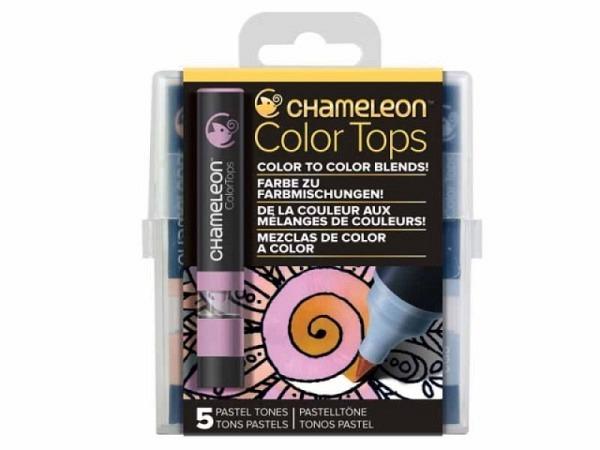 Pinselstift Chameleon Color Tops Set 5Stk. Pastel