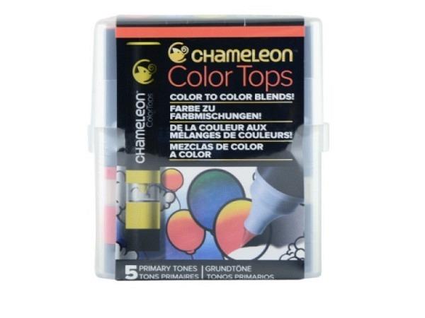 Pinselstift Chameleon Color Tops Set 5Stk. Pastel, alkoholbasierte, ..