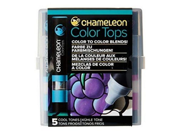 Pinselstift Chameleon Color Tops Set 5Stk. Cool, alkoholbasierte, wa..
