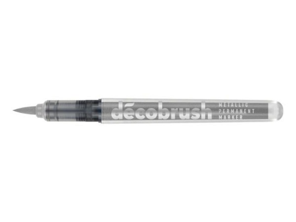 Filzstift Karin Brushmarker Metallic silber 8580