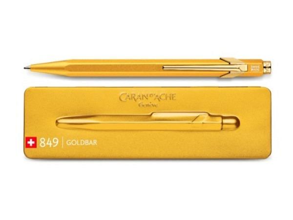 Kugelschreiber Caran dAche 849 Goldbarren