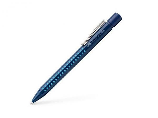 Kugelschreiber Faber-Castell Grip 2010 dunkelblau