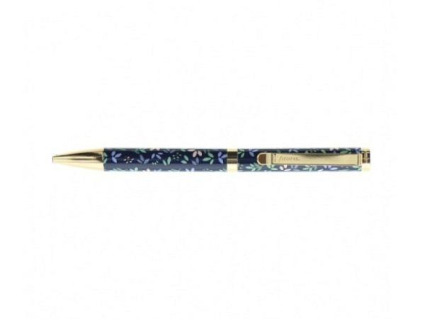 Kugelschreiber Filofax Garden navy aus Metall