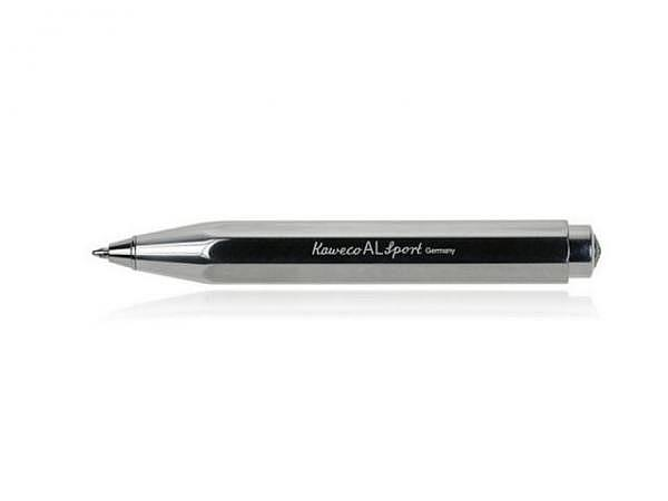 Kugelschreiber Kaweco AL Sport Raw polished, Aluminium