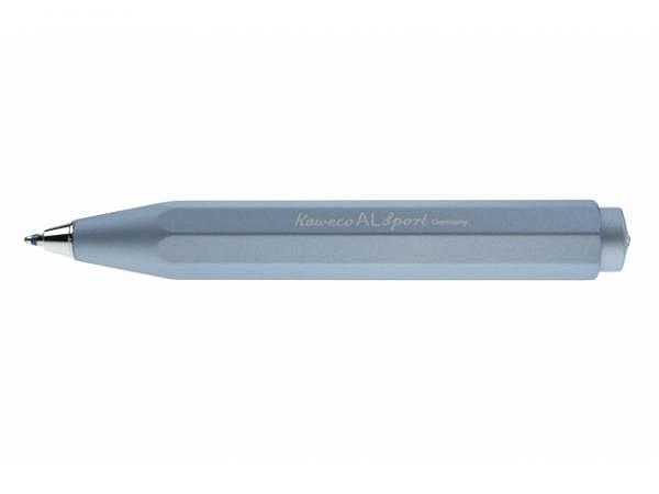 Kugelschreiber Kaweco AL Sport hellblau, Aluminium