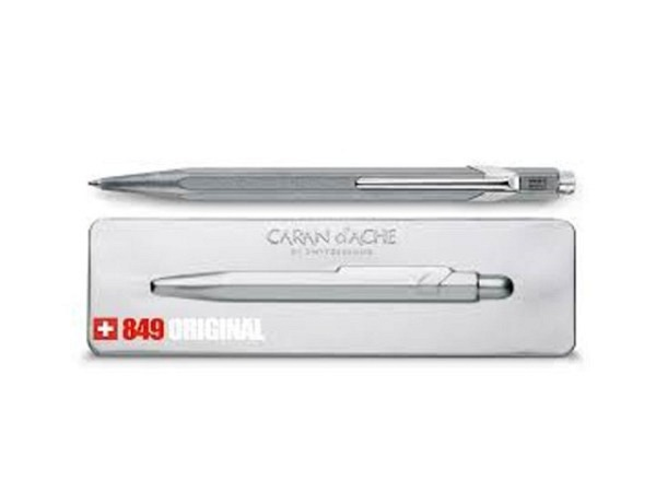 Kugelschreiber Caran dAche 849 Original anthrazit farben