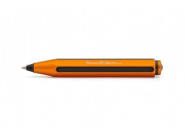 Kugelschreiber Kaweco AC Sport orange acht. Aluminium