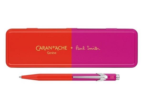 Kugelschreiber Caran dAche 849 metallic blau