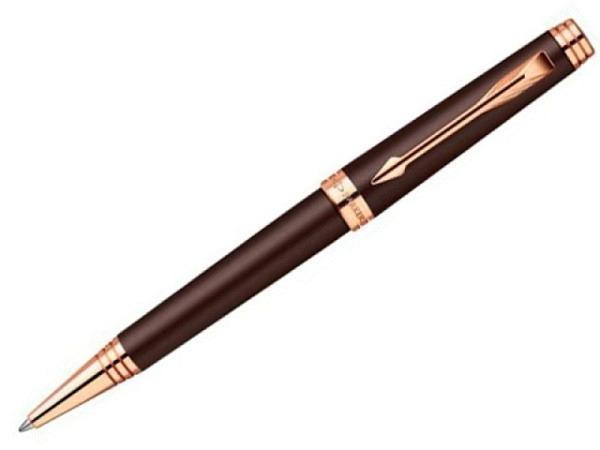 Kugelschreiber Parker Premier Soft Brown G.C., braun