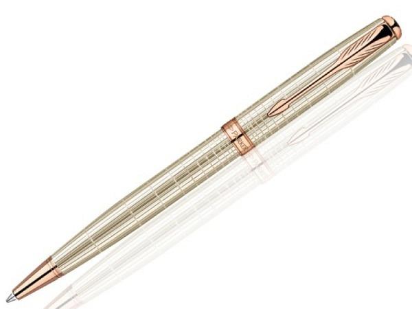 Kugelschreiber Parker Sonnet Chiselled Silver G.C. Slim