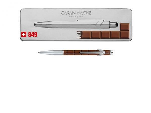 Kugelschreiber Caran dAche 849 Totally Swiss Schokolade