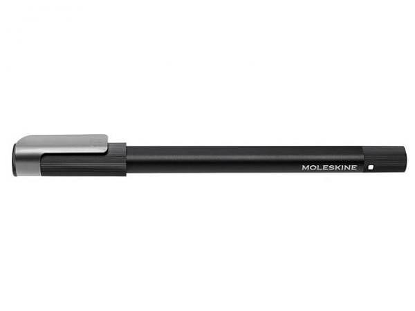Kugelschreiber Moleskine+ Pen Ellipse mit Volant XS Starter Journal