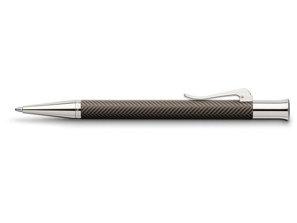 Kugelschreiber Graf von Faber-Castell Guilloche Ciselé braun