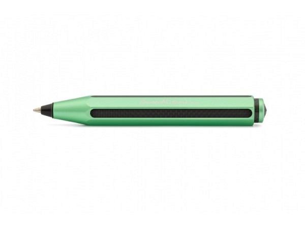 Kugelschreiber Kaweco AC Sport grün achtkantiges Aluminium