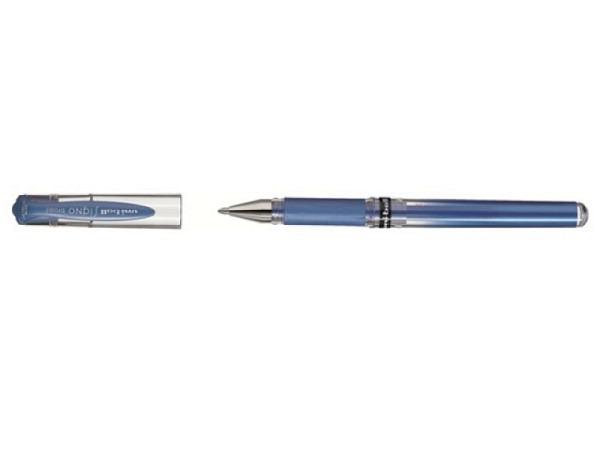 Roller Uniball Signo UM-153MET metallic blau
