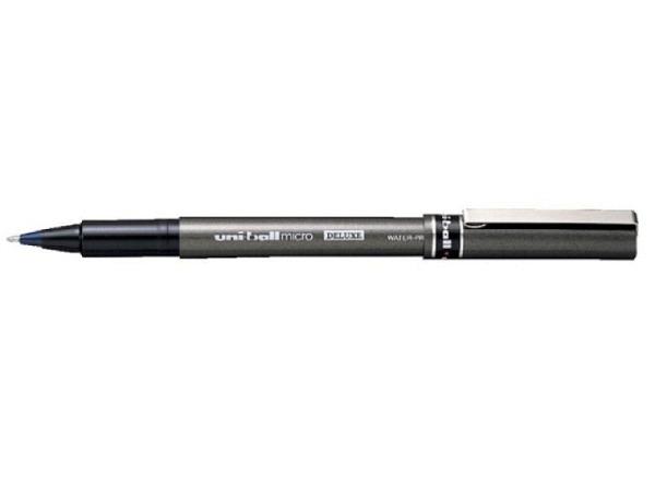 Roller Uniball Micro Deluxe UB-155 blau, Metallspitze