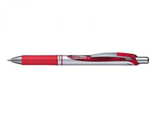 Roller Pentel Energel BL77 0,7mm rot mit Druckmechanik